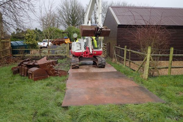 Park House Farm |  Sewage Treatment Plant Installation | Somerset