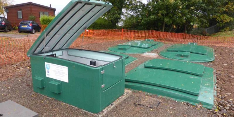 Home Farm Holiday Centre | Sewage Treatment Plant | Somerset