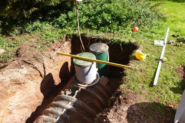 Goldsmoor Barn Conversion Requires New Septic Tank