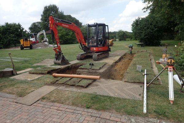 The Old Parsonage | Drainage Field Installation | Yeovil, Somerset