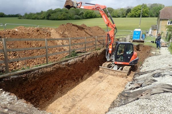The Retreat | Drainage Field Installation | Faversham, Kent
